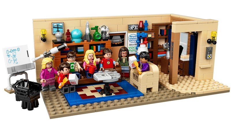 Illustration for article titled The Big Bang Theory! Lego set's packed with everything but a laugh track