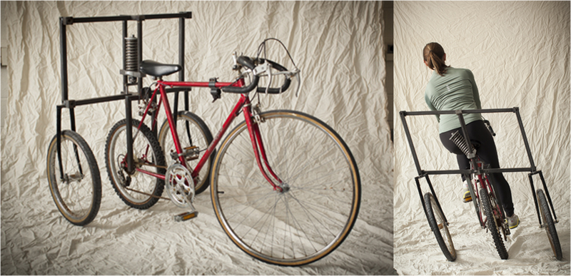 Illustration for article titled ¿Cómo sería montar en bicicleta en gravedad cero?