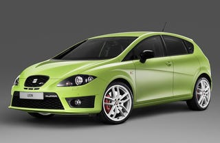 Illustration for article titled SEAT Leon Cupra R: The Quickest SEAT Ever