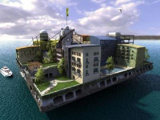 Illustration for article titled Seasteading Is The Aquatic Answer To The Housing Crisis