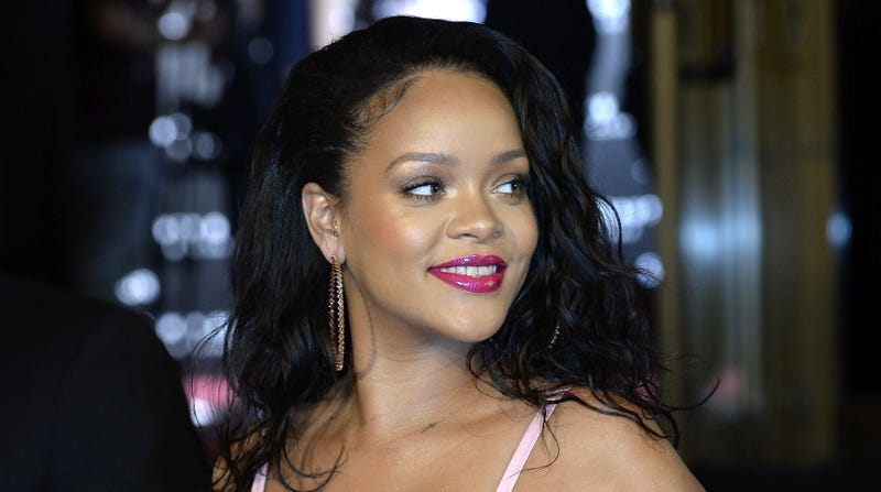 Rihanna attends the Fenty Beauty by Rihanna presentation at Callao Cinemas on Sept. 23, 2017, in Madrid. (Fotonoticias/FilmMagic/Getty Images)