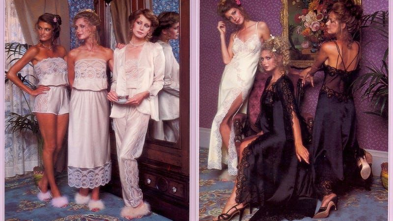 Illustration for article titled Compare And Contrast: This Hilarious 1979 Victoria's Secret Catalog vs. Victoria's Secret Today