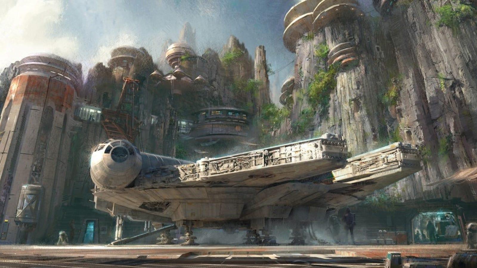 Disney tendrá un parque de atracciones sobre Star Wars, y su concepto luce maravilloso