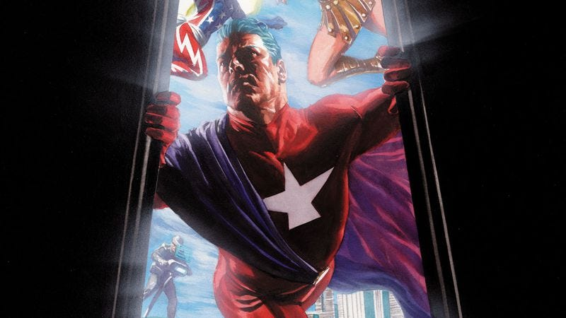 Illustration for article titled Kurt Busiek's superhero masterwork continues with Astro City #1