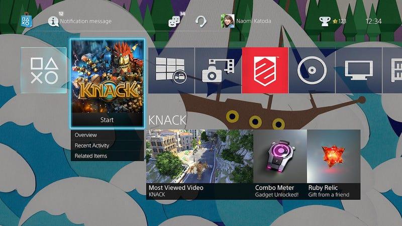 Illustration for article titled El software de PS4 se actualiza: música USB y mejor gestión de archivos