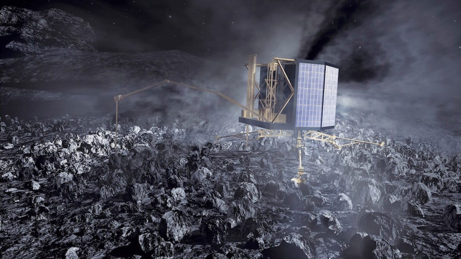 How Europe Is Going to Land on a Comet