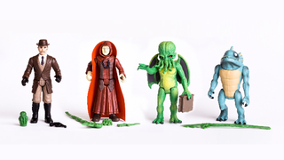 "Illustration for article titled An Exclusive Look At Warpo's Gloriously Retro 12"" Cthulhu Figure"
