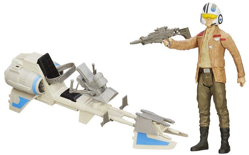 STAR Wars Nero Serie veicoli in Titanio primo ordine Snowspeeder 11