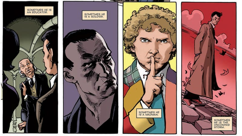 Illustration for article titled New Doctor Who comic shows the Doctor's ultimate weakness