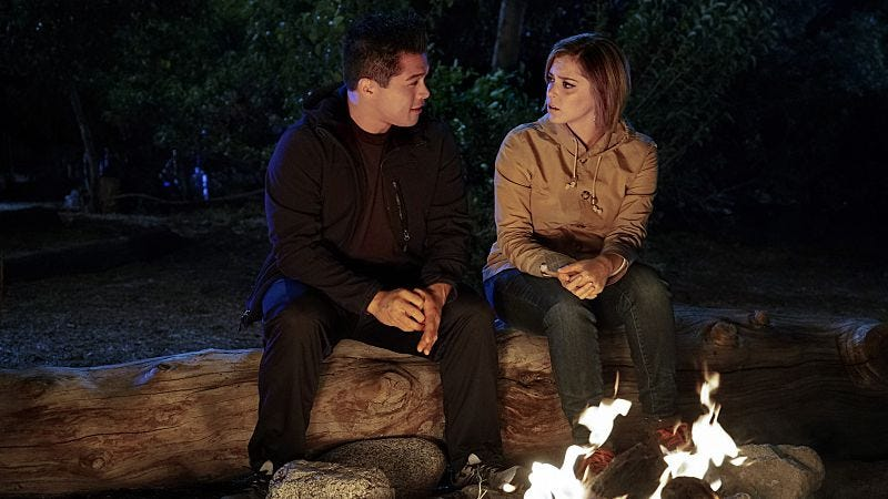 Vincent Rodriguez III, Rachel Bloom (The CW)