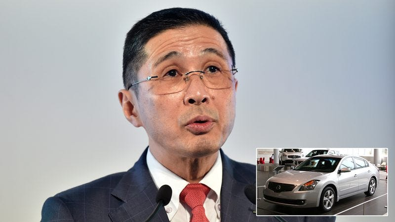The CEO of Nissan.