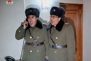 Illustration for article titled Caption this photo from North Korea.