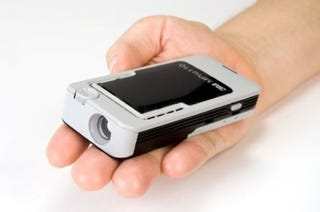 Illustration for article titled 3M's Pocket Video Projector First to Hit Shops, 30th September