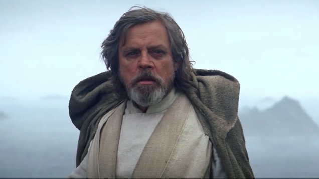 Mark Hamill Had a Very Different Idea for Luke s Intro in The Force Awakens