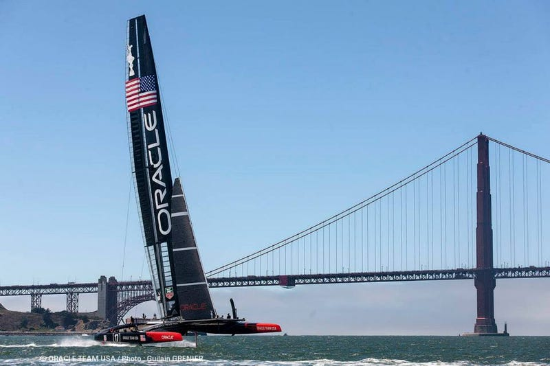 Illustration for article titled Team Oracle penalized prior to start of America's Cup