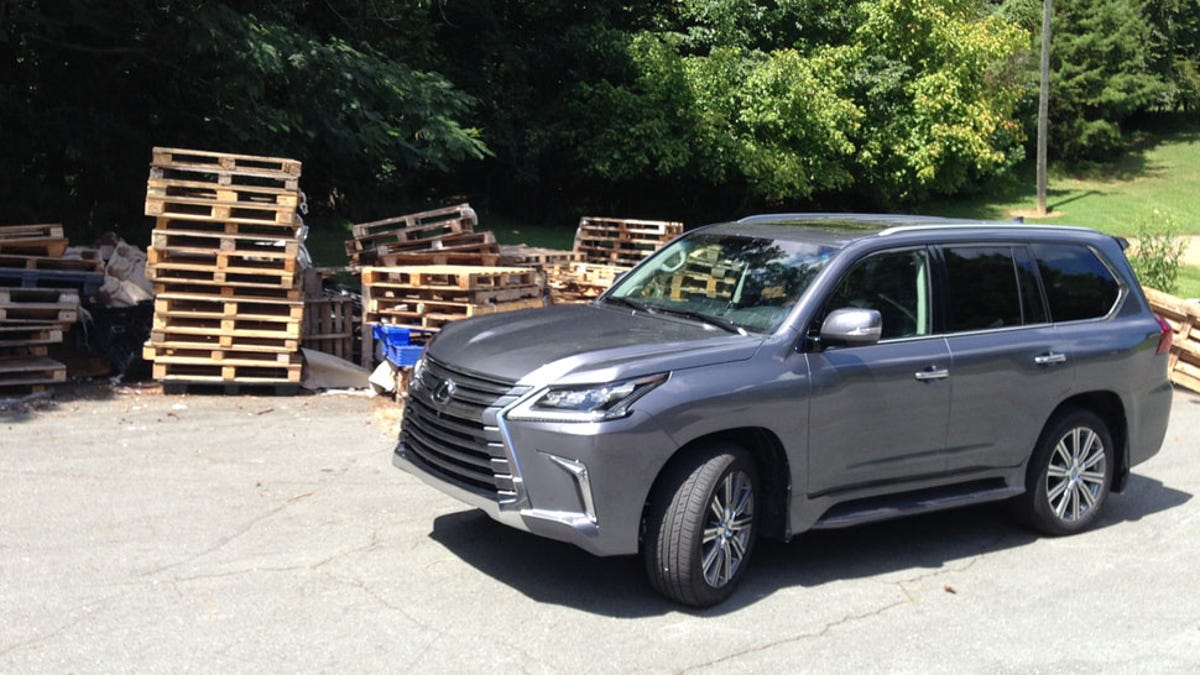 The 2016 Lexus Lx 570 Is A Big Lumbering Idiot Mobile And I Hate It Toyota Land Cruiser V8 Key