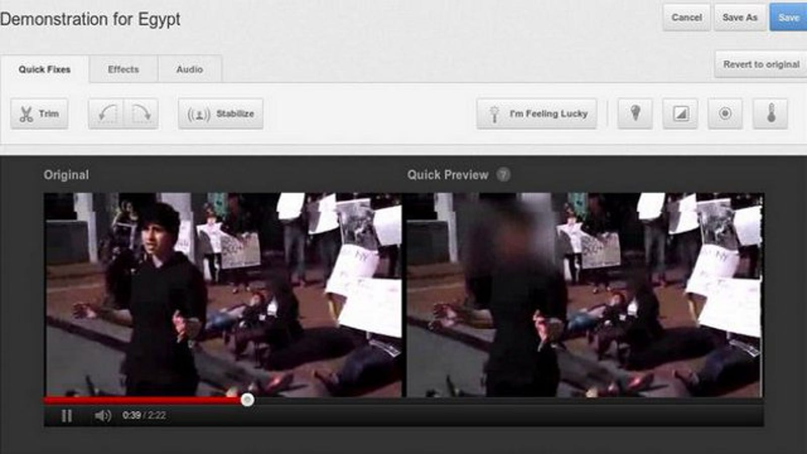 Youtube Adds Automatic Face Blurring Option Fuse Box Video Tube