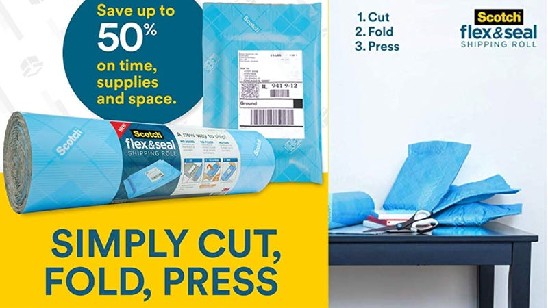 Stop Wasting Money at the Post Office and Buy a Scotch Flex & Seal Shipping Roll
