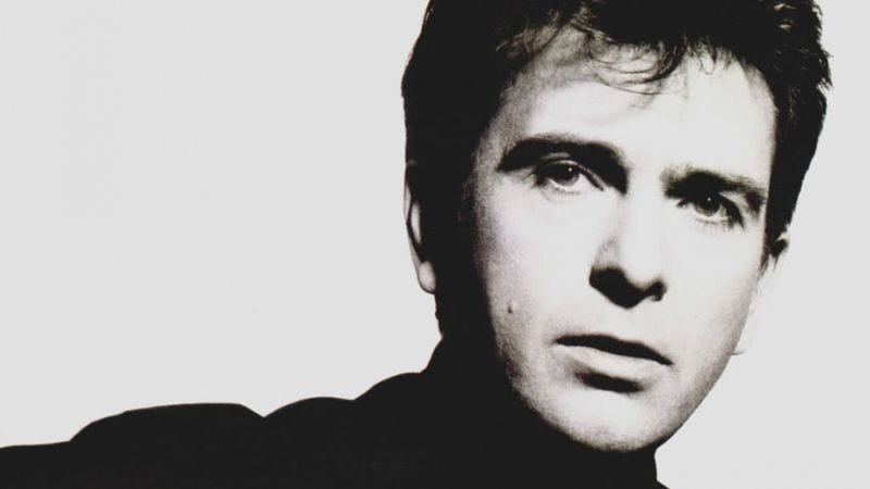 Illustration for article titled Peter Gabriel completed a 27-year-old demo from the sessions for his classic albumSo