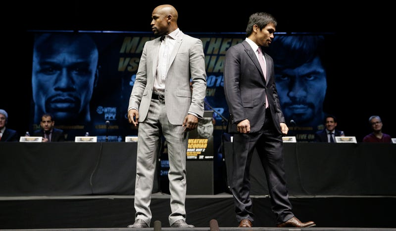 Illustration for article titled Don't Believe The Hype: Mayweather-Pacquiao Is Not Good Vs. Evil