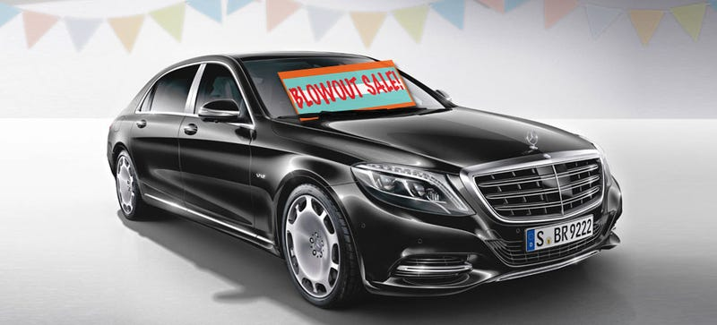 The Price Of A Maybach Has Dropped 56