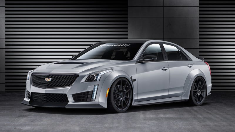 This Is Hennessey's New 1000 Horsepower Cadillac Sledgehammer To The