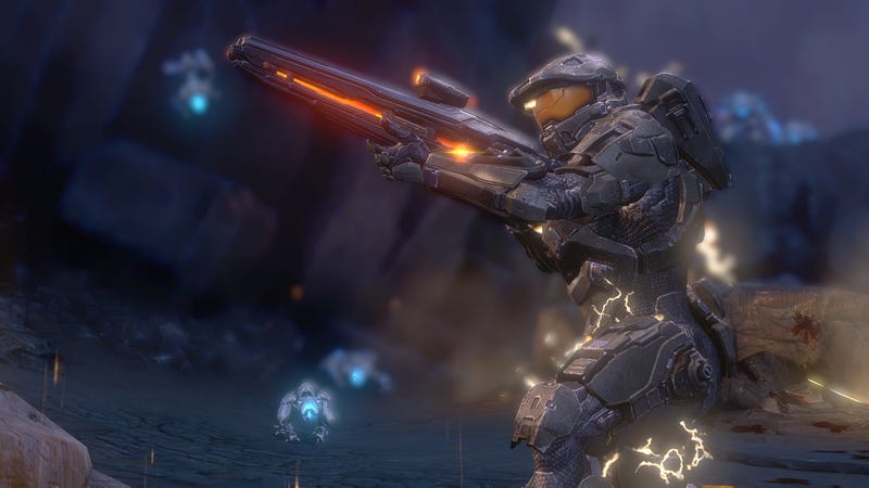 Illustration for article titled Some Halo 4 Campaign Screens to Start Your Friday