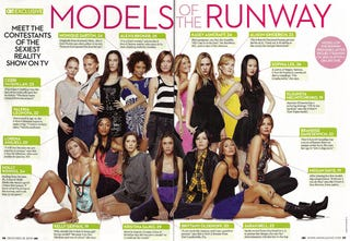 Illustration for article titled New Project Runway Models Revealed In Photoshopped Pic