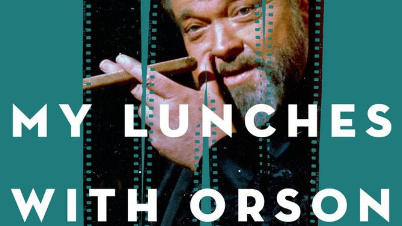 Illustration for article titled Read This: Orson Welles talks shit from beyond the grave in My Lunches With Orson