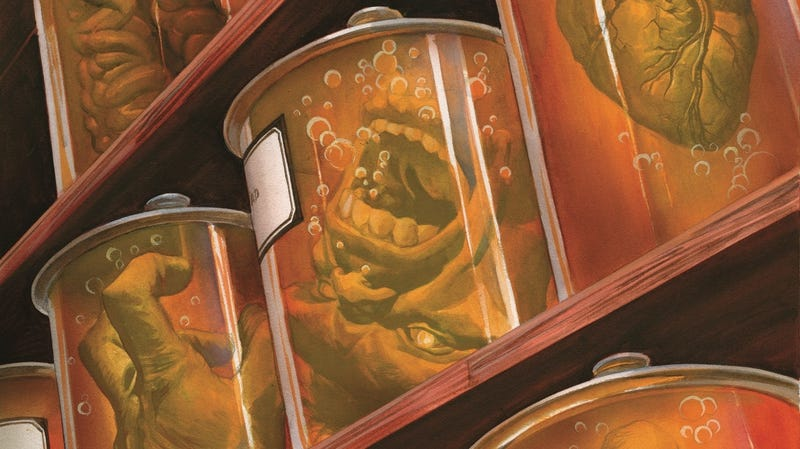 Illustration for article titled The Immortal Hulk lives in pieces in this exclusive preview