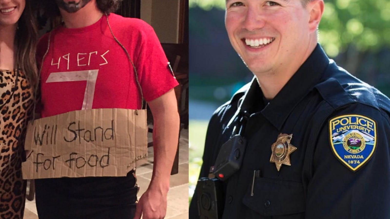 Nev campus police officer dons racist costume to mock colin campus police officer dons racist costume to mock colin kaepernicks protest solutioingenieria Images