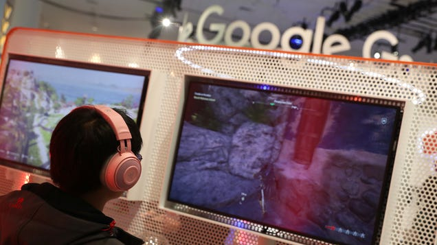 Google Suggests Stadia Will Somehow Achieve  Negative Latency,  Perhaps Via Predictive Button Input