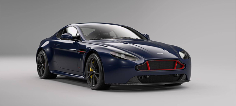 Illustration for article titled These Aston Martin Vantages Dial Down The Lipstick To Look Way More Awesome