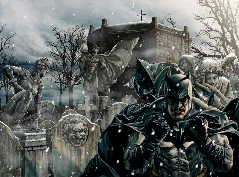 Illustration for article titled Feast Your Eyes on the Amazing Artwork That Will Make You Think Batman Actually Exists
