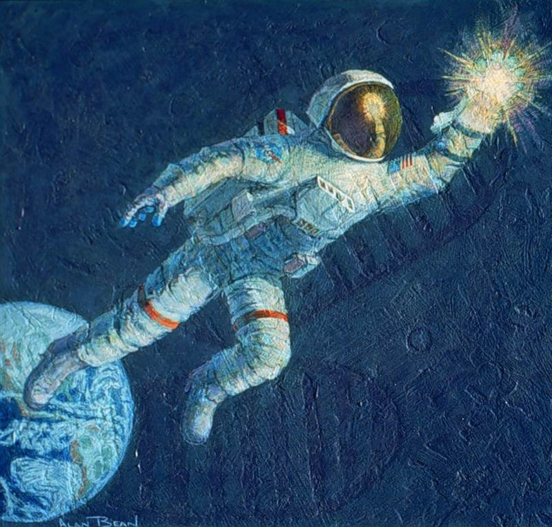 Illustration for article titled Alan Bean Would Approve