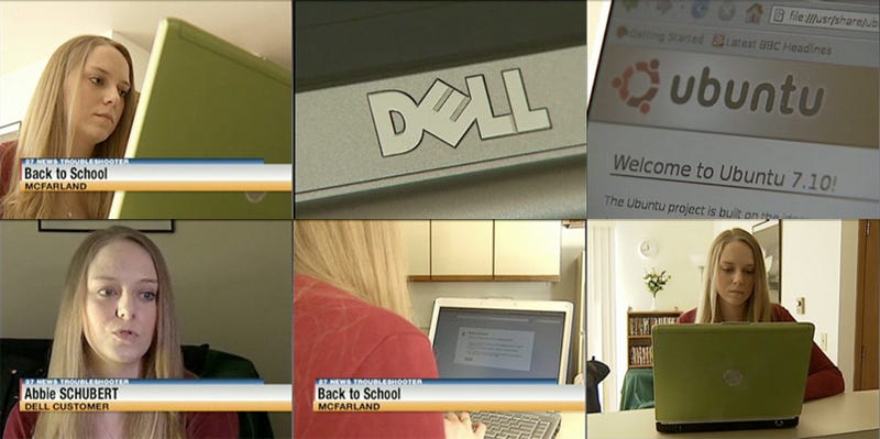 Illustration for article titled Wisconsin Girl Cancels Online College Courses Thanks To A Mind Blown By Her Ubuntu Dell