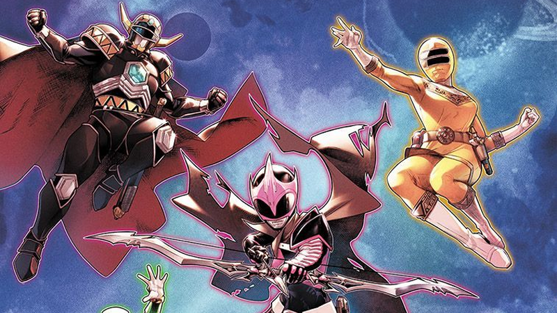 Meet your morphinominal new comic book Power Rangers.