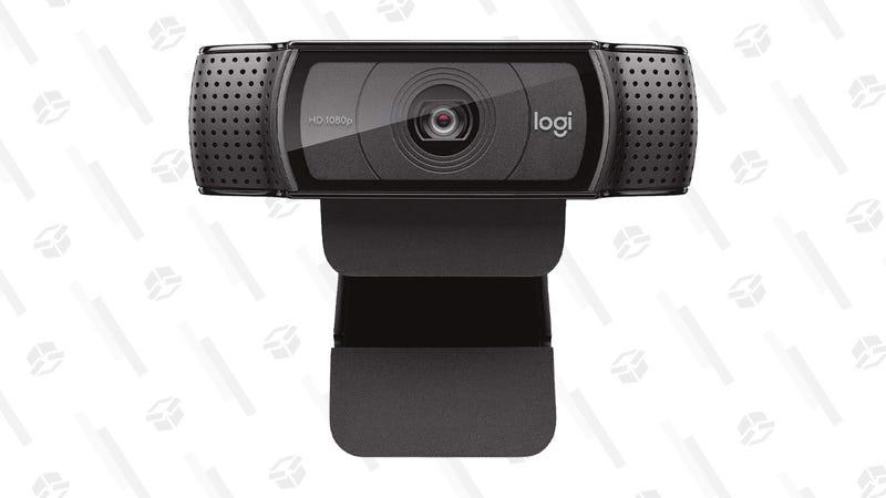 Logitech HD Pro Webcam   $40   Amazon
