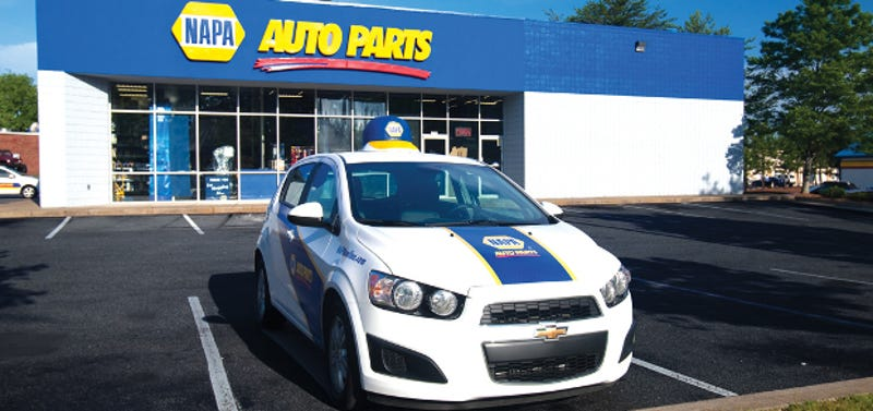 How do prices from the RockAuto Parts catalog compare to Autozone?