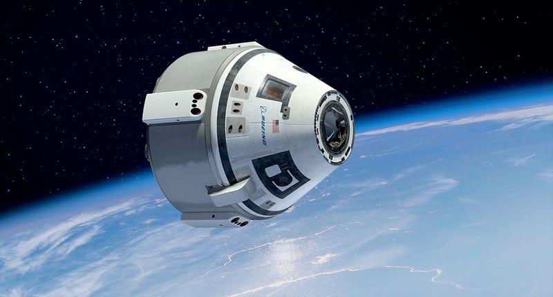 Illustration for article titled Boeing, más cerca de construir los nuevos taxis espaciales de la NASA