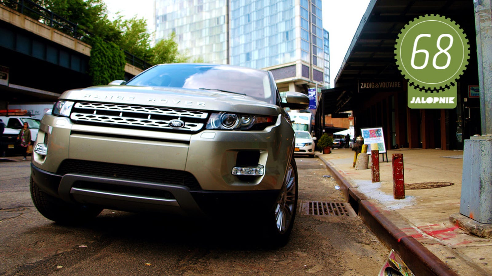 2013 range rover evoque the jalopnik review. Black Bedroom Furniture Sets. Home Design Ideas