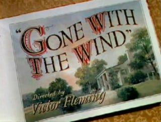 Screenshot of the title page for the trailer for Gone With the WindWikimedia Commons