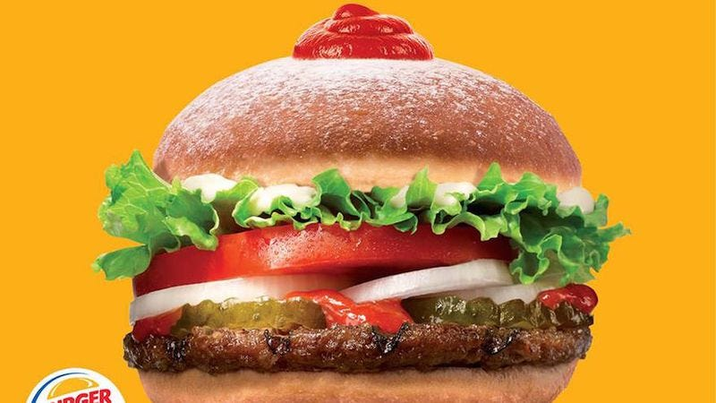 Photo: Burger King Israel Facebook