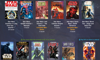 Illustration for article titled The Force Is Strong With This Humble Star Wars Comics Bundle
