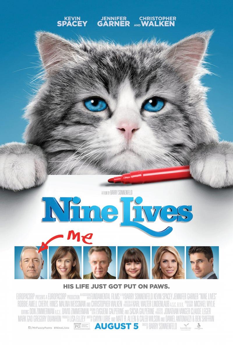 Illustration for article titled Nine Lives 2016 Movie Counter