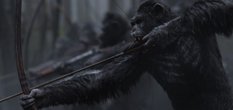 War for the Planet of the Apes es intensa e increíble. Imágenes: Fox