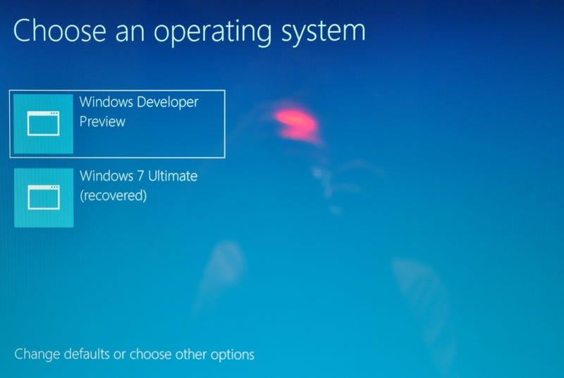 continue system resume windows 7