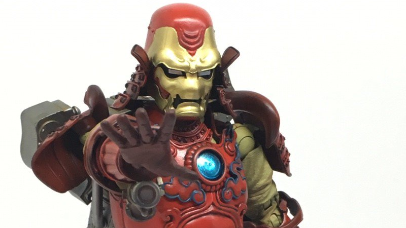 Illustration for article titled Samurai Iron Man Is Ridiculously Cool