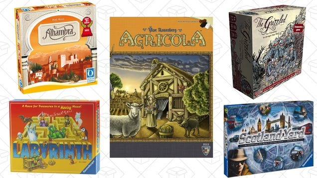 Choose From Nearly 100 Discounted Board Games In Amazon's One-Day Sale