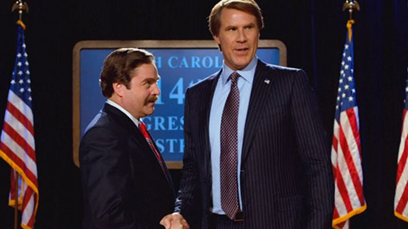 Illustration for article titled Will Ferrell and Zach Galifianakis reunite for new Richard Linklater movie